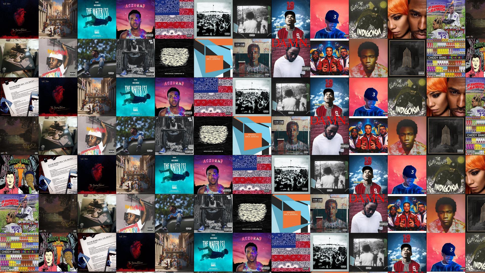 Mick Jenkins Logic Water Chance Rapper Wallpaper Tiled