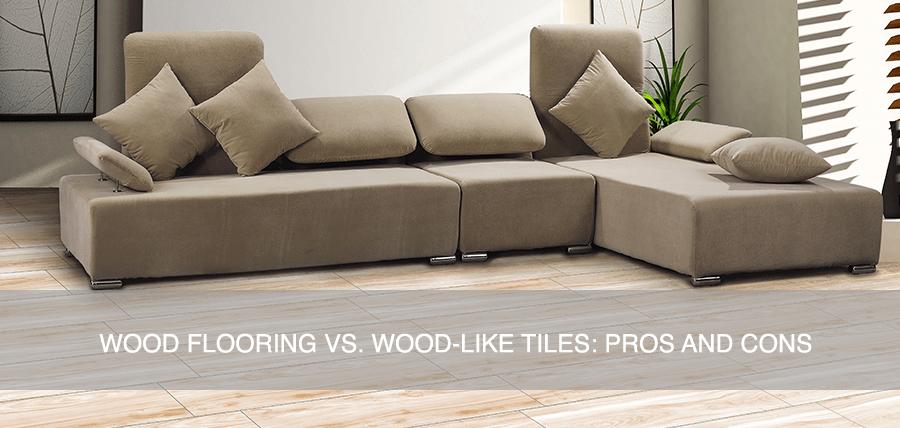 wood flooring vs wood like tiles pros