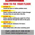 Fix A Floor Extra Strong Adhesive For Tile Repair