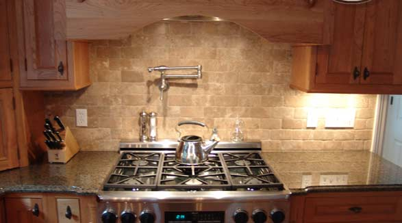 Kitchen Remodel Designs: Tile Backsplash Ideas For Kitchen