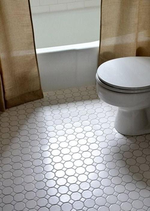 White Tile Dark Grey Grout Novocom Top
