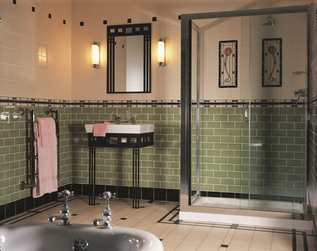 30 Great Pictures And Ideas Art Nouveau Bathroom Tiles 2019