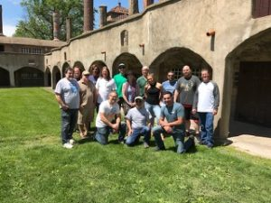 tile geeks attend moravian pottery and