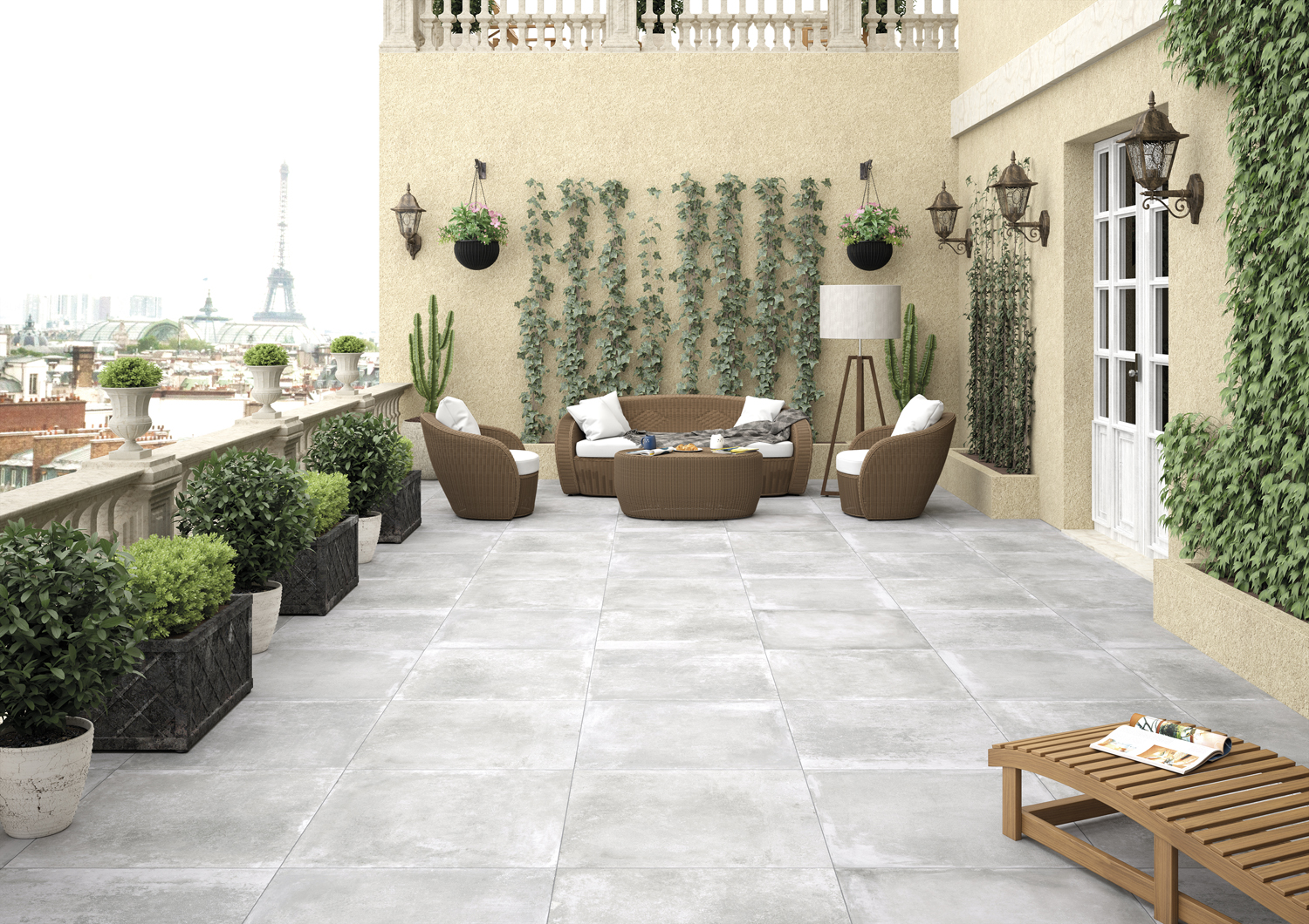 tile of spain in outdoor spaces tile