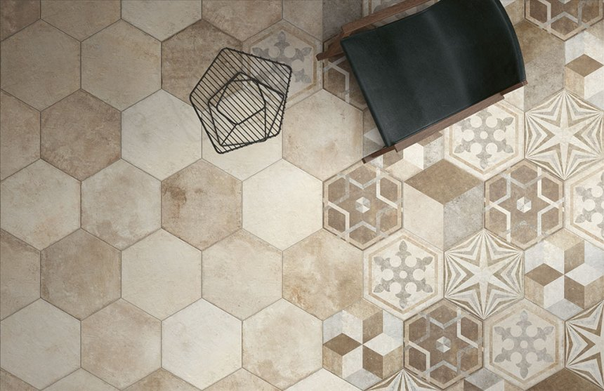 Ceramica Fioranese's Heritage tile collection