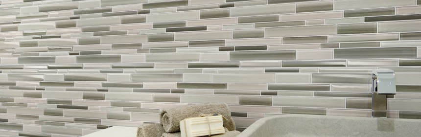 Florida Tile's VitraArt Fusion features a tone-on-­tone, 12x12 random-sized pattern.