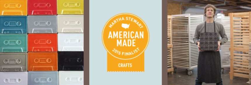 Clayhaus Ceramics Named a Finalist in Martha Stewart's American Made Audience Choice Awards