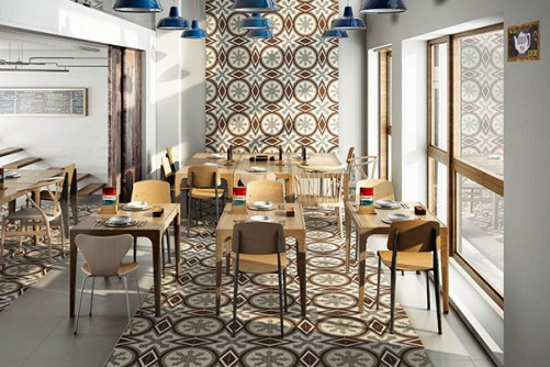 Vanguard Series – Painted Moroccan Tile Look