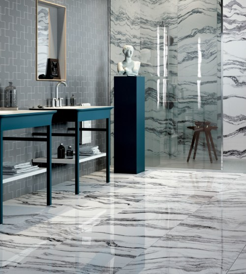 Artistic Tile's Allora Eloquently Mimics Italian Marble | Tileometry
