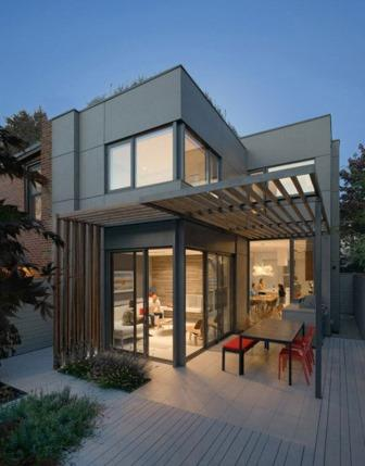 Residential Honorable Mention - DUBBELDAM Architecture + Design - Through House - Toronto, Canada