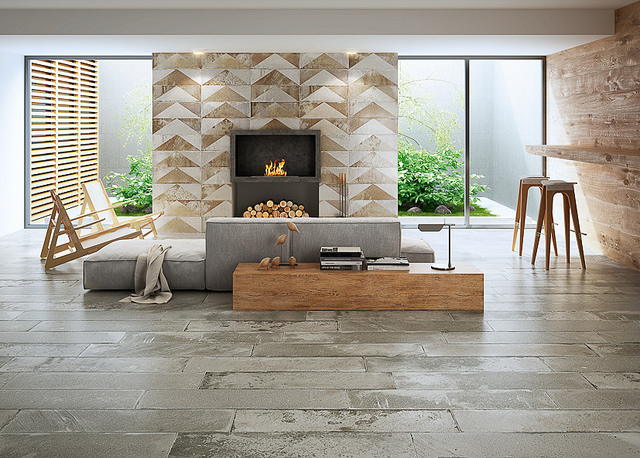 Soci's Brickwork tile series in Mocha Natural