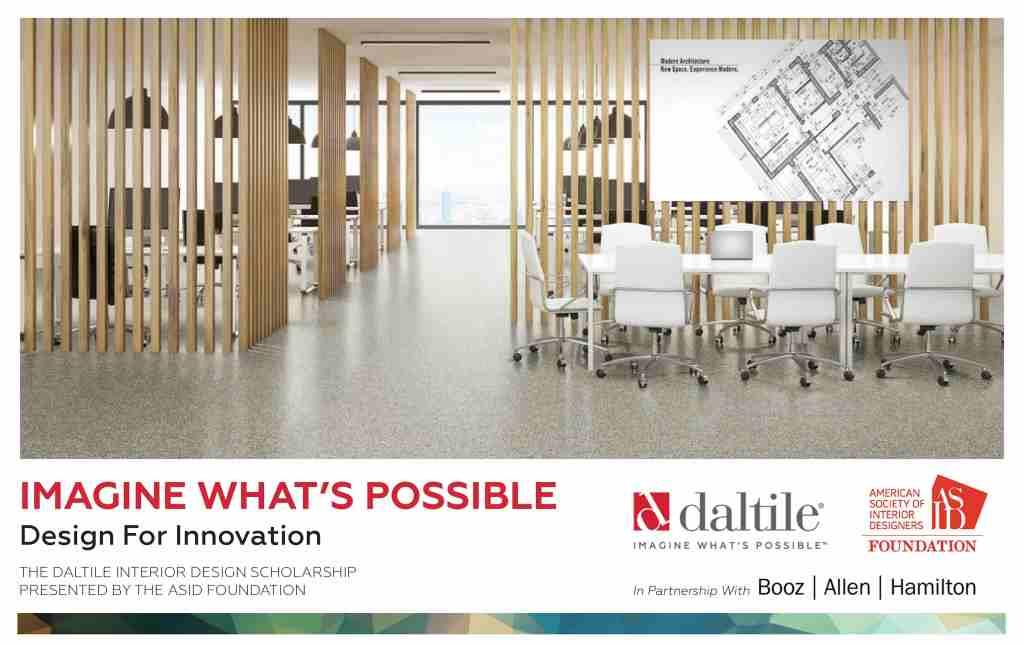 6th Annual Daltile Interior Design Scholarship Competition Now Open