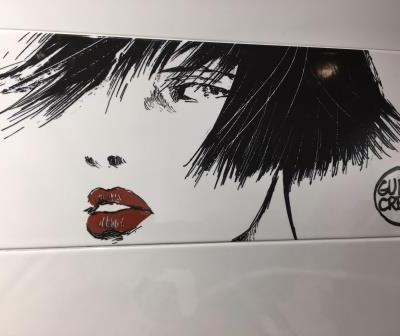 Del Conca's latest tile collection features the art work of Guido Crepax and his Valentina character.