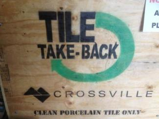 Crossville Inc.'s Tile Take Back Program