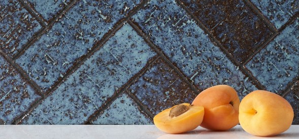 Mason: Artisan Glazed Brick Tiles from Ann Sacks