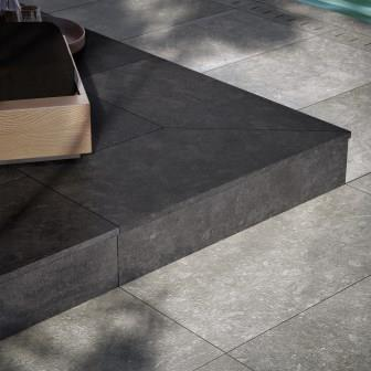 Daltile's Diplomacy series is part of the TREAD Porcelain Paver program.
