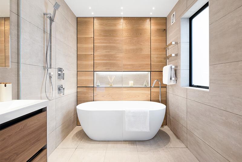 tile ideas for a timeless bathroom