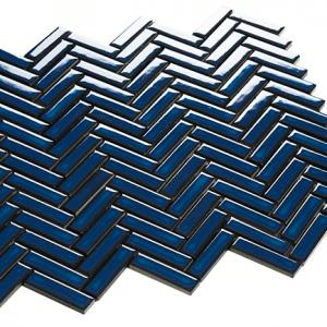 chevron series blue