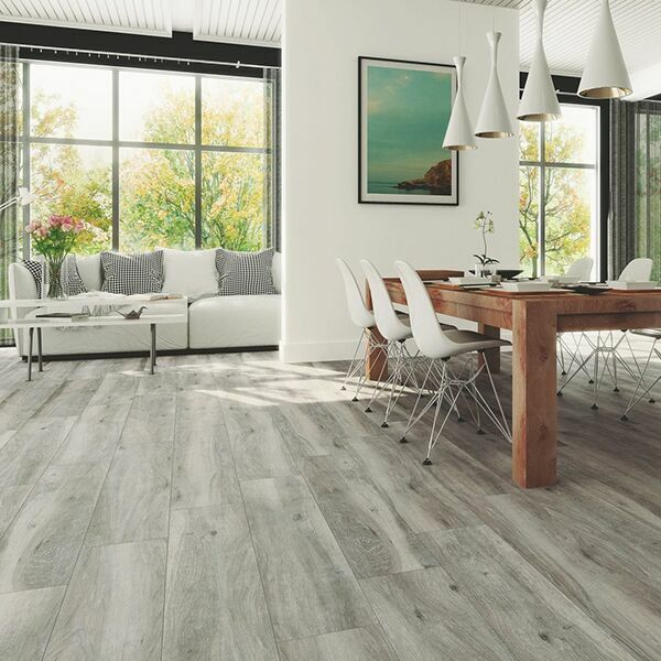 Highly abrasion-resistant it is suitable for high-traffic areas in residential and commercial expanses while offering the durability to withstand outdoor environs. Sandalo Grey Oak Wood Effect Ceramic Floor Tile Tiles247