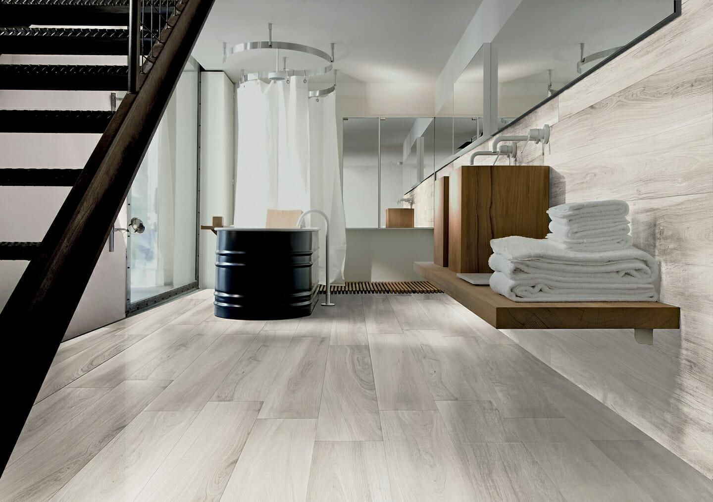 8x48 gardenia white wood tile tiles