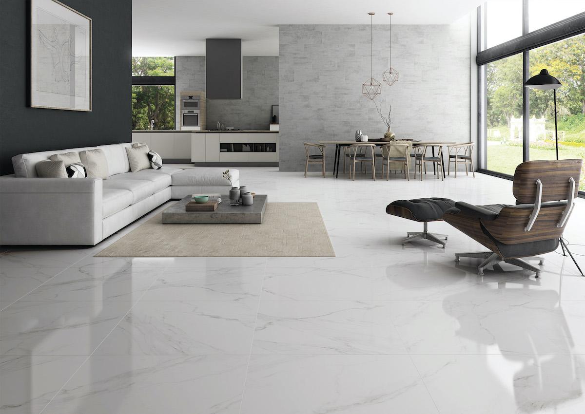 24x48 naos white polished tile tiles