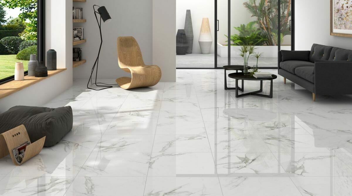 why large tile flooring tiles