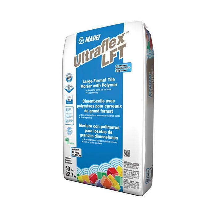 ultraflex lft premium polymer white 50 lbs