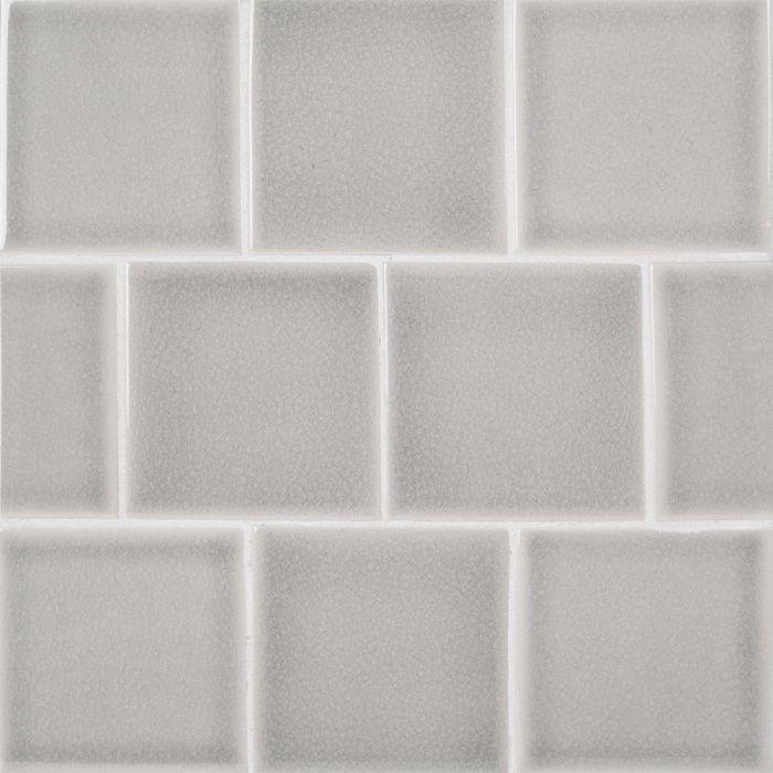 atlas riverwash 4x4 ceramic tile glossy crackle