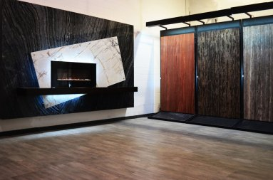 Bolder Panel Show room at Stone Source - Tile Source International