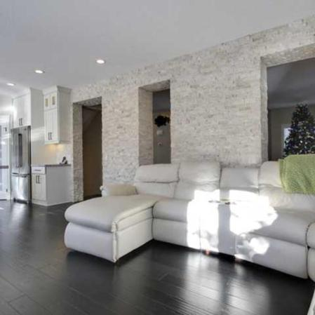 Ivory Ledgestone feature wall