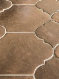 Jeffrey Court Brunus Field Tile installed on a floor