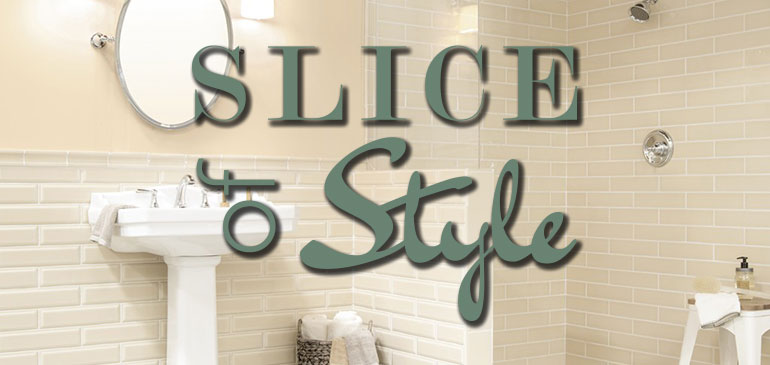 Slice of Style - those finishing touches with Jeffrey Court tile in the background