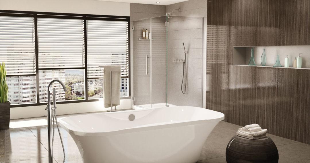 Fleurco Aria Prelude freestanding tub