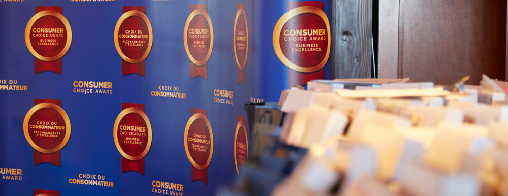 Consumer's Choice Award Presentation