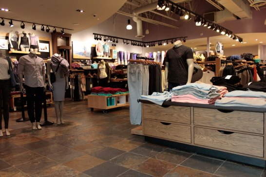 Rustic Earth Slate installed in a retail store floor