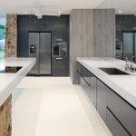 Serene Ivory Limestone installed in a kitchen floor