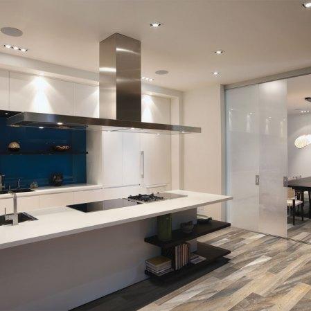 Evolution Earth Porcelain Tile installed in a kitchen