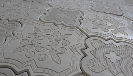 Aster Grey 8x8 and 10x10 Cement Tile