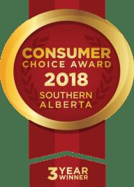 Three Year Winner Consumer Choice Award