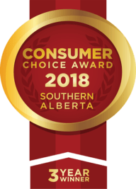 Three Year Winner Consumer Choice Award