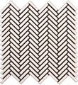 Color Collection Antique Herringbone Mosaic Matte