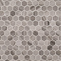 "Jeffrey Court Transitional Taupe 1"" Hexagon Honed"