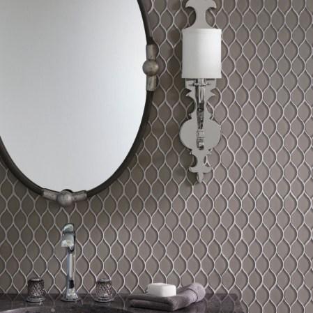 JC-69230 Shoal Mosaic Coconut Gothic Vanity Installation