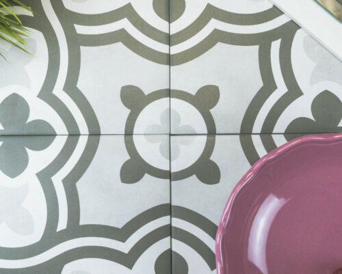 Form Series Patterned Tile