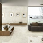 Crema Marfil installed in a modern living room