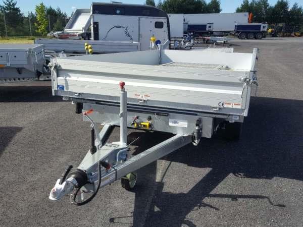 Humbaur HTK 3500.41 treveis tipphenger med el pumpe