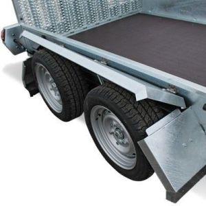 HUMBAUR Senko 303016 Senkehenger for transport av maskiner og utstyr hjul