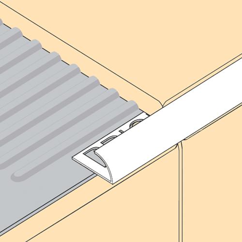 7 5mm pvc round edge tile trim