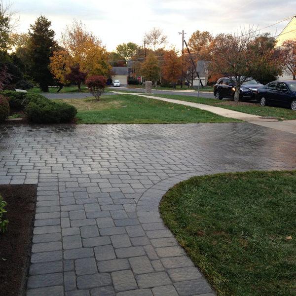 Interlocking Paver walkway and Driveway