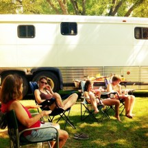 Camping with the Blumreich's